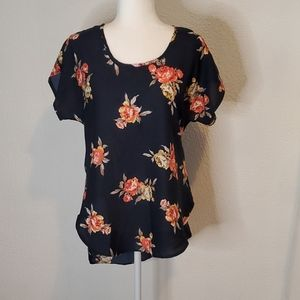 3/$18, Live 4 Truth Floral Blouse